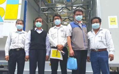 11天蓋出台灣版方艙醫院-瑞助營造風評當隱形的防疫國家隊